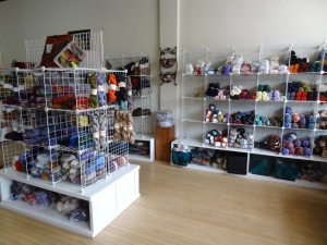 Midwest Yarn's brick and mortar shop is located in the Bay View suburb of Milwaukee, Wisconsin.