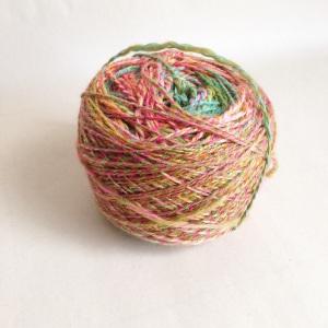Handspun yarn finished a week ago